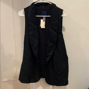 NWT jcrew wool tuxedo vest
